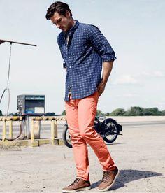 H pantalon naranja