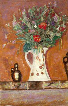 Pierre Bonnard (1867-1947, French) Bouquet de cheminée, 1913