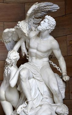 Inspiration for a new tattoo on my calf - The myth of Prometheus