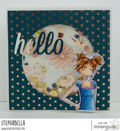 Stamping Bella- Uptownie Curly Clara Needs Your Address