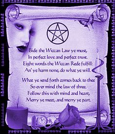 The Wiccan Rede Posted by: Tigermyst http://paganconnection.org