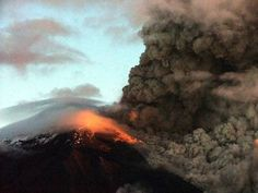 Volcan Tunguragua, Baños, Ecuador