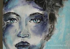 Art-journaling & Mixed Media Art - Colourful Day!