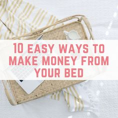 Whether it is because we are feeling lazy, we're ill or facing other health issues, working from our bed sounds like the ultimate dream. You might not think that you can really make money from the comfort of your own bed, but the good news is that there are plenty of ways to earn an...