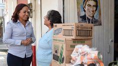 """La diputada del PAN inició la campaña """"Impulso Económico al Adulto Mayor"""", en diversas colonias de la capital del estado – Morelia, Michoacán, 05 de abril de 2016.- Al reconocer ..."""