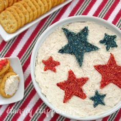 Red, White, and Blue Dip