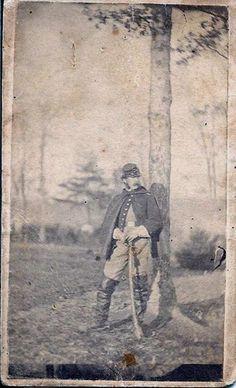 Carte de Visite CDV of An Identified Union Cavalryman from New York. LIEUT. PRENDERGAST CO. M 1ST NEW YORK CAVALRY.