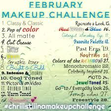No mirror makeup challenge disaster 30 day makeup challenge mixed up makeup…