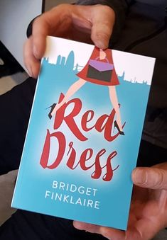 My brother gets his hands on my pre-publication Author's copy of Red Dress, a novel. You can pre-order on Amazon.co.uk