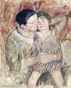 Woman and Child by Mary Cassatt from Los Angeles County Museum of Art