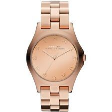 MARC JACOBS... looking for a rose gold watch...