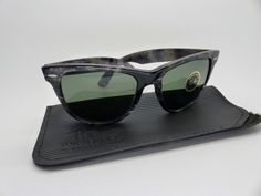 Vintage BL Ray Ban Wayfarer II Grey Frost 54mm Original 1980s Ltd Edition NOS by VSOx on Etsy