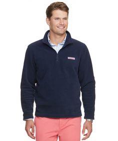 Wool 1//4 Zip Pullover Vineyard Vines Men/'s Birdseye Knit Soild Cotton