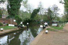 Millmead Lock, River Wey, Guildford