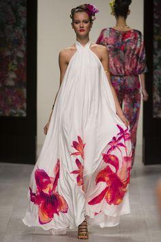 Vestido   Orquídeas