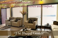 Contemporary lifestyle apartments that are set to give a unique experience of luxury, location, convenience & comfort to the guests visiting Bhopal.  Visit: http://www.thebhopalgrand.com/