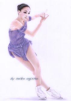 本郷理華 Illustrations And Posters, Colored Pencils, Ballet Skirt, Portrait, Skirts, Fashion, Moda, Illustrations Posters, Colouring Pencils