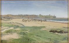 South Shields beach and Tynemouth Priory