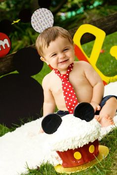 Baby Boy/ Toddler Red with White Polka Dot Tie. Great for Mickey Mouse First Birthday or Cake Smash. via Etsy would be so cute for colts Mickey Mouse birthday Mickey 1st Birthdays, Mickey Mouse Clubhouse Party, Mickey Mouse Clubhouse Birthday, Baby 1st Birthday, Mickey Party, Mickey Mouse Birthday, Birthday Ideas, Birthday Pictures, Birthday Cake