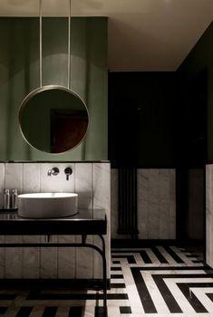 59 Ideas Home Interior Design Bathroom Sconces For 2019 Best Bathroom Colors, Green Bathroom Decor, Bathroom Sconces, Bathroom Floor Tiles, Bathroom Ideas, Design Bathroom, Bathroom Art, Bathroom Cabinets, Bath Design