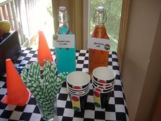 cars party drinks