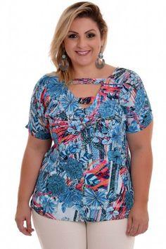 Blusa Plus Size Naiara