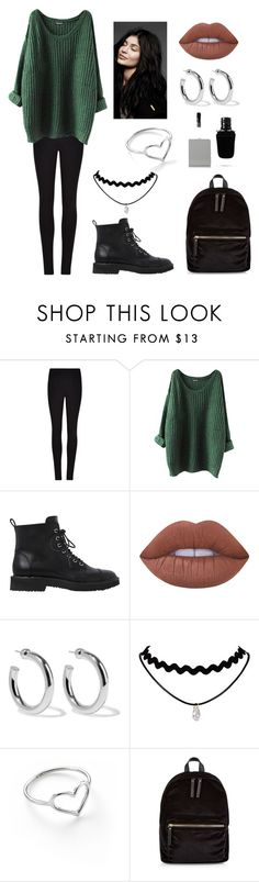 """Untitled #311"" by fashion-with-dudette on Polyvore featuring Winser London, Giuseppe Zanotti, Lime Crime, Sophie Buhai, Jordan Askill, New Look and Givenchy"