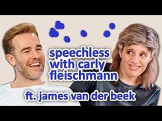 Carly har autisme og bruker tekst til tale. Hun intervjuer skuespiller James van der Beek, kjent fra bl.a. Dawsons Creek. Kjempemorsomt!