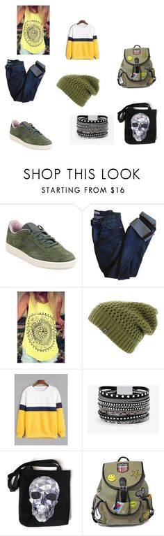 """""""родственные оттенки"""" by malishevagalina ❤ liked on Polyvore featuring Reebok, Acne Studios, WithChic, The North Face, White House Black Market and Like Dreams"""