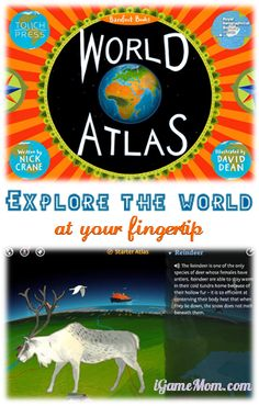 Explore the World at Your Fingertip - geography, country, history, cultural, music, ... Available as app and print book #kidsapps