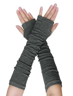 Women Elbow Length Stretchy Thumbhole Arm Warmer Fingerless Gloves Pair in Clothing, Shoes & Accessories, Women's Accessories, Gloves & Mittens Knitted Gloves, Fingerless Gloves, Long Gloves, Dress Gloves, Women's Gloves, Large Scarf, Ladies Party, Shawls And Wraps, Hand Warmers