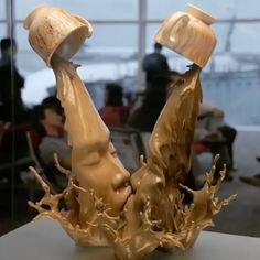"""14.8k Likes, 85 Comments - Art Collective (@art_collective) on Instagram: """"Good morning! ☕️❤️☕️ Sculpture by @johnson_tsang_artist Motion graphics: @nhelene91 via…"""""""