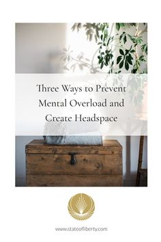Our minds are rarely quiet. Yet, knowing how to create headspace can improve our wellbeing in so many ways. So how can we create it? Here are three tips: 1. Create physical space. 2. Create a self-care practice - make meditation and mindful breathing a regular practice and consider journaling. 3. Create more than you consume - immerse yourself in activities that lead you into a state of flow. Healthy habits daily  journaling ideas  declutter your home #wellness #self isolating Slow Living, Mindful Living, Liberty Online, Womens Wellness, Clear Your Mind, Mindfulness Practice, Headspace, Holistic Wellness, Declutter Your Home