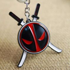 New Arrival Anime Catoon X-men Deadpool Action Figures Toy Game Toys Deadpool Llavero Keychain Juguete Alloy Toys Pendant