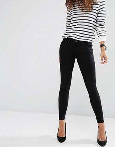 Prezzi e Sconti   Asos whitby jeans skinny a vita bassa taglia W24 l32 w30 7ce35079ee2