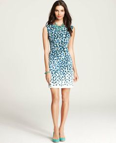 Petals Sheath Dress