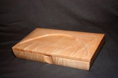 Man's Valet Box VICEROY in Tiger Maple VBTMP by RonLentz on Etsy, $129.00
