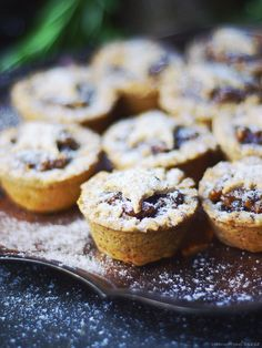 Quick & Easy Mince Pies {Free from: gluten, dairy, eggs, oil, gums, and refined sugar}