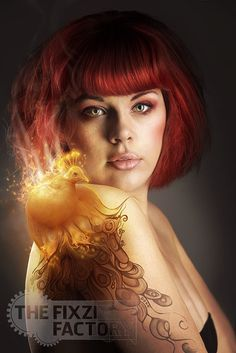 Phoenix by MadameThenadier on @DeviantArt