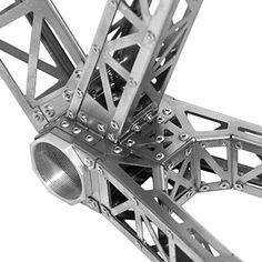 BME Titanium Riveted Bicycle Frame