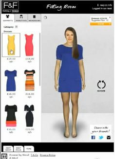 Tesco Unveil Virtual Fitting Room On Facebook
