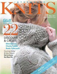 hand-made-knitting-crochet: Interweave Knits Fall 2011