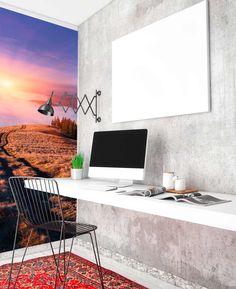 Wall Murals, Stencil, Desk, Inspiration, Furniture, Home Decor, Wallpaper Murals, Biblical Inspiration, Desktop