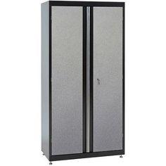 Sandusky 36 inchL x 18 inchD x 72 inchH Steel Garage Cabinet, Multicolor Door Storage, Office Storage, Tall Cabinet Storage, Locker Storage, Modular Storage, Storage Spaces, Craft Armoire, Steel Garage, Steel Cabinet