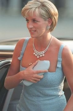 June 3, 1997: Diana Princess of Wales at the English National Ballet production of Swan Lake at the Royal Albert Hall.                                                                                                                                                      More