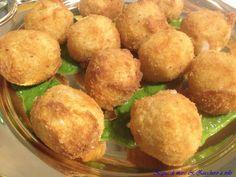 Crocchette di Baccalà su salsa al prezzemolo