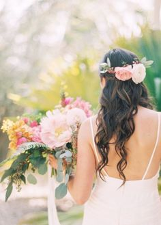 Wedding hairstyle idea; Featured photographer: Michelle March Photography