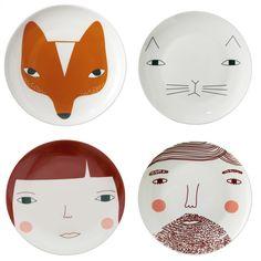 Donna Wilson porcelain, designer born in Schotland
