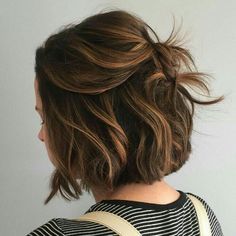 Imagem de hair, brown, and short hair
