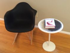 Calif. ModTable / Tulip style Table / Modern geo pattern by ModernaireMCMStudios on Etsy